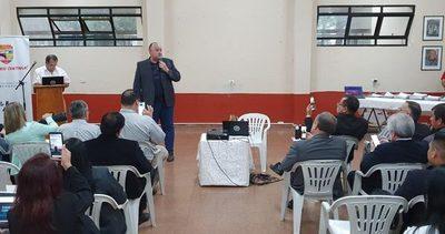 Gobernador de Alto Paraná presentó su informe de gestión