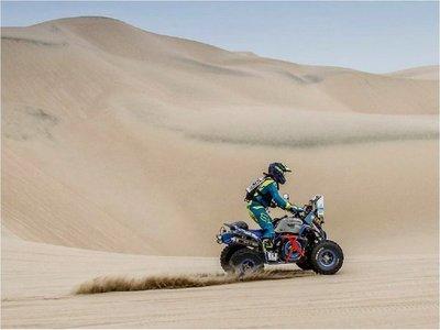 Sanabria listo para el Dakar