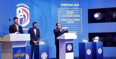 Quedó establecida la primera fecha del Apertura y Clausura 2020