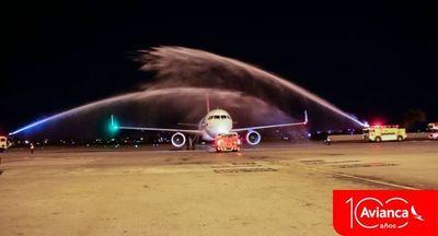 Ya hay vuelos directos a Brasilia y Bogotá, y todos los días a Lima