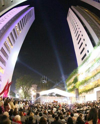 Este viernes se realizará Concierto de Fin de Año en la Explanada del World Trade Center Asunción