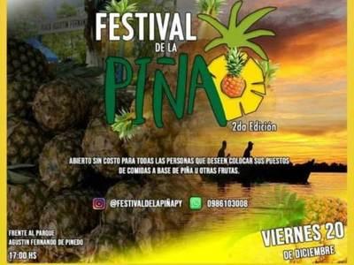 Realizarán Festival de la Piña en Concepción