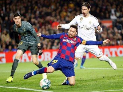 Barcelona y Real Madrid empatan en un clásico poco vistoso