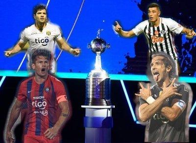 Rivales de clubes paraguayos en la Copa Libertadores 2020