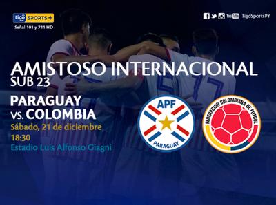 Paraguay tiene una prueba ante Colombia