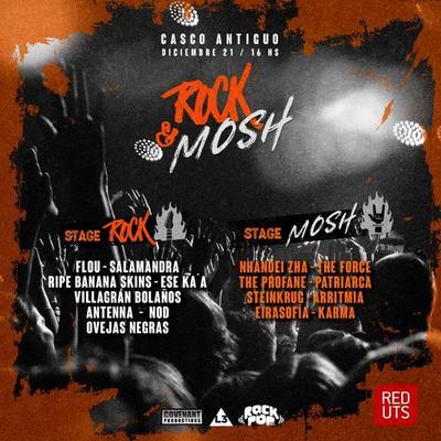 El Rock & Mosh Festival juntará a 16 bandas nacionales este sábado