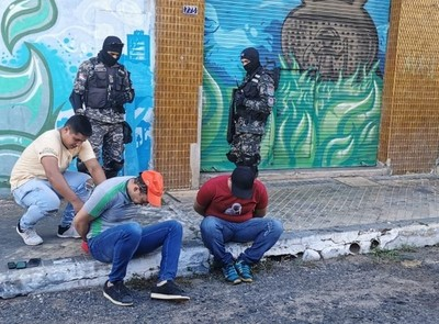 Policía Nacional evita un gran asalto a un ente financiero en Asunción