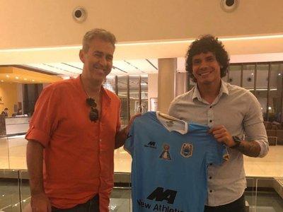 Nery Bareiro seguirá su carrera en el extranjero