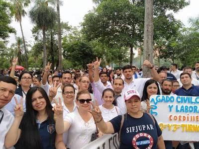Funcionarios judiciales apelarán sentencia que declaró ilegal la huelga del sector