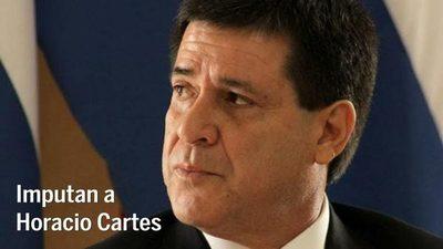 Imputan a Horacio Cartes