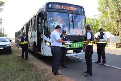 Liberan horarios de buses por fiestas de fin de año