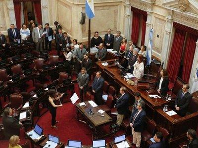 Senado argentino convertirá en ley el proyecto de emergencia económica