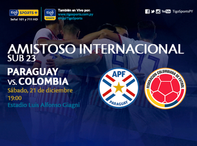 Paraguay vuelve a probarse ante Colombia
