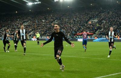 Almirón marca su primer gol y le da la victoria al Newcastle