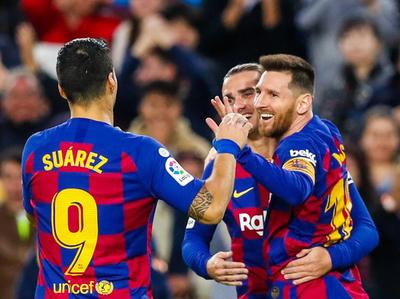 Barcelona no falla en su casa y es puntero