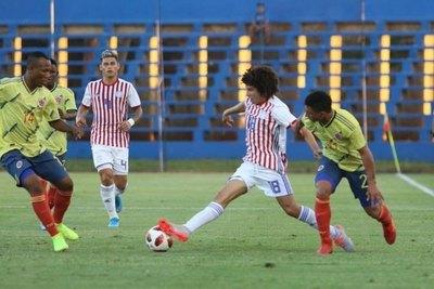 En gran remontada, la Albirroja Sub 23 iguala con Colombia