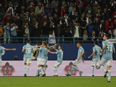 Lazio hunde a Juventus y conquista su quinta Supercopa