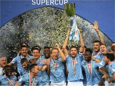 Lazio es supercampeón italiano