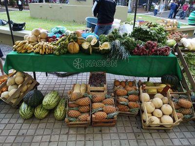 Ferias navideñas ofrecen productos frescos para las fiestas