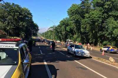 Exigen Carta Verde a conductores en Foz de Yguazú