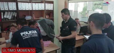 Allanan oficina de Aduanas por supuesto contrabando