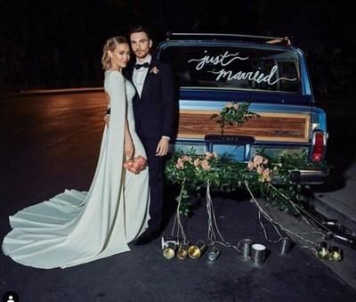 ¡Hilary Duff se casó!