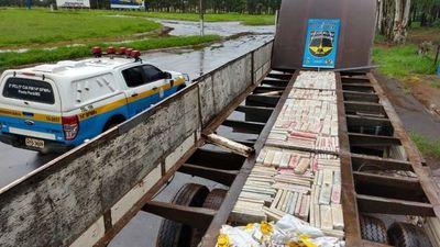 Histórica incautación de 88 mil 200 kilos de drogas en Mato Grosso del Sur