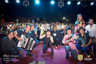 EXITOSO FESTIVAL ANIVERSARIO DE SAN JUAN DEL PARANÁ