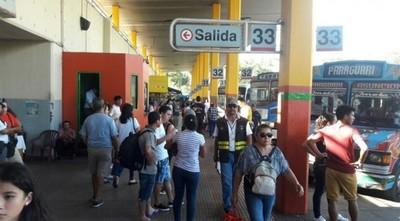 Terminal reporta desde el viernes un movimiento de 260.000 pasajeros