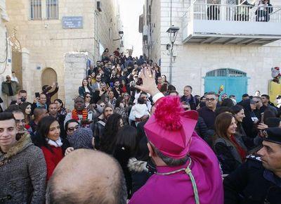 Belén se prepara para acoger a cientos de cristianos para Navidad