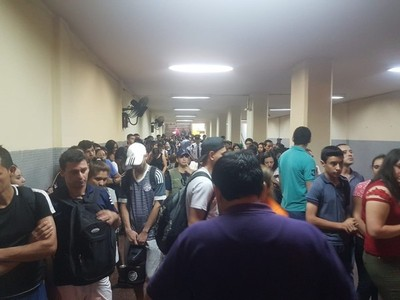 Hasta el momento no existen incidentes dentro de la terminal de Asunción