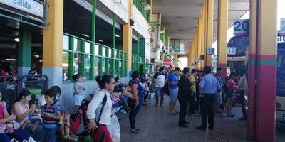 Operativo Navidad: Más de 440 mil personas pasaron por la terminal de ómnibus