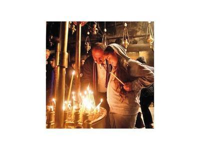 Cristianos de todo el mundo acuden a Belén para celebrar