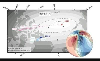 El polo norte de la tierra está cambiando velozmente