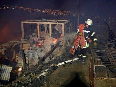 Chile: Creen que gran incendio en Valparaíso fue intencionado