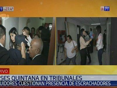 Ulises Quintana busca salir de la cárcel en medio de incidentes