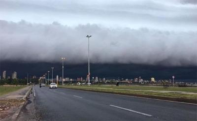 Alerta por tormentas y lluvias para la región oriental según Meteorología