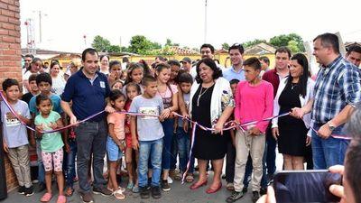 Inauguran moderno Centro de Atención Integral de niños, niñas y adolescentes en Santa Rosa Mnes.