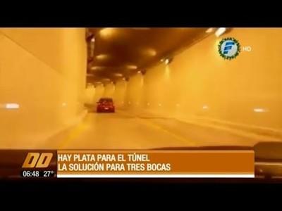 Primer desembolso para el túnel de Tres Bocas