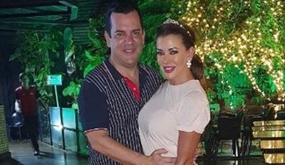 Marly Figueredo festejó su cumpleaños en Brasil
