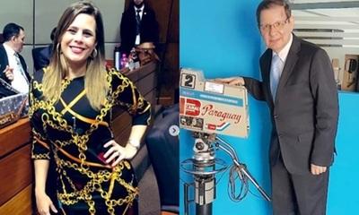 La diputada Kattya González quiere un piquito de Martini