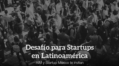 Sé parte del Desafío de Startups de Latinoamérica