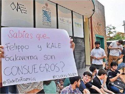 Conacyt: Estudiantes se dirigen a Marito por designación de Felippo