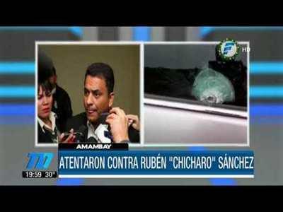 Chicharõ sufre atentado en Amambay