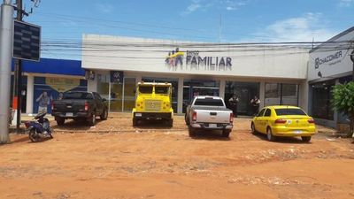 Asaltan banco en Santa Rosa del Aguaray