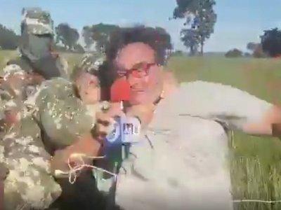 Militar que agredió a periodistas también realizó denuncia