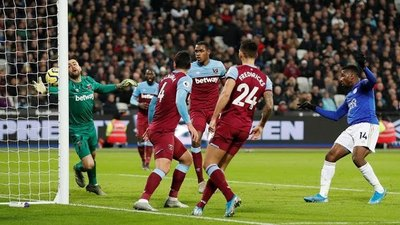 Con Balbuena, West Ham cayó ante el escolta Leicester