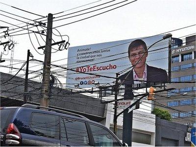 Fiscalía pide retiro de  publicidad  política  por ser extemporánea