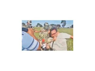 Militar agresor se victimiza y presenta contradenuncia