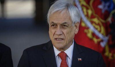 Sebastián Piñera acusó a sectores extranjeros de influir en la crisis de Chile